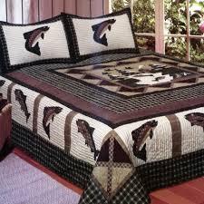 Fish Theme Bedding & Angler's Dream Quilt Sets Adamdwight.com