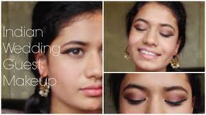 tutorial indian wedding guest makeup look 1 cranberry eyes with gold accents saj mahal glamdash makeup
