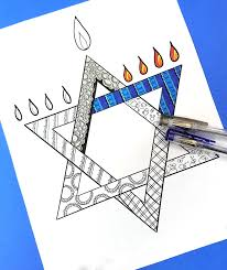 the chanukah coloring page for s is so beautiful grab your free printable hanukkah coloring