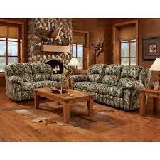 Camo Two Piece Living Room Set Sofa Loveseat HUP007A2PC CA