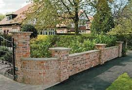 brick wall gardens garden wall designs