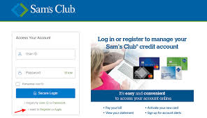 sam s club credit card account login