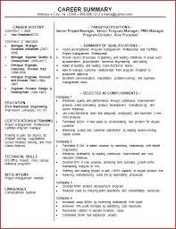 Resume Summary Statement Examples Impressive Professional Summary Statement Examples Gottayottico