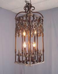 attractive wrought iron chandeliers rustic 37 crystal chandelier