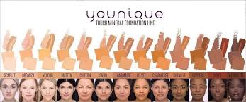 Younique Foundation Colour Match Chart Bedowntowndaytona Com