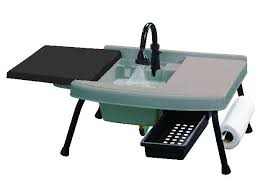 Cabelas Deluxe Camping Kitchen Tour  YouTubeCamping Kitchen Sink