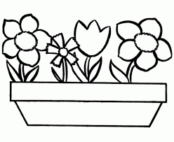 Flower Coloring Page Preschool: Pin by becky wammack on shut in cards.