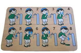 Jual puzzle papan kayu peraga wudhu anak perempuan di lapak istana. Gambar Mewarnai Orang Wudhu