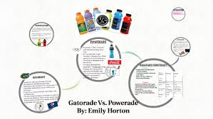 Gatorade Vs Powerade By Emily Horton On Prezi