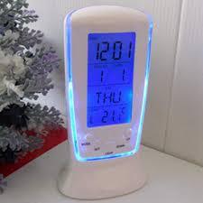 <b>Digital</b> Backlight <b>LED Display</b> Table Desk Alarm Clock <b>Snooze</b> ...