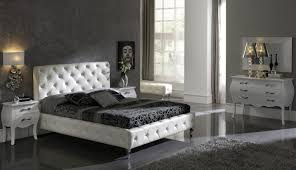 Luxurious Bedroom Furniture Sets Made In Spain Leather Luxury Modern Furniture Set With Tufted