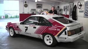 Barry Sheene's Works Toyota Celica Supra Touring Car - YouTube