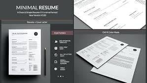 Resume Templates Word Free Modern Modern Resume Template Word Minimalist Resume Template Word Free