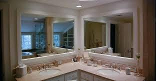 corner double sink vanity. corner double vanity dimensions small units remodeled including · master bathroom sink