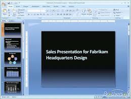 Microsoft Powerpoint 2007 Template Serpto