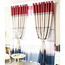 bright red sheer curtain panels beautiful country beige and green striped curtains cute heavy dark blue