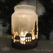 How To Decorate Candle Jars Christmas Township Candle Jar Hometalk 27