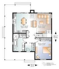 ... 1st level Beautiful and small new modern Scandinavian home plan, 3 to 4  bedrooms, ...
