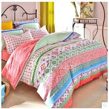 bright color comforter quilts colorful quilt sets cute girly comforter sets colorful patterned and striped beautiful