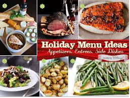 Holiday Menu Rustic Christmas Menu Planning Ideas For Food And Drinks