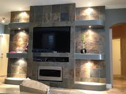 entertainment center plans with drywall