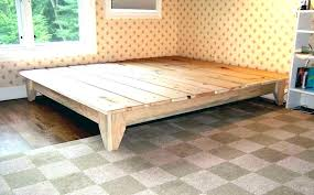 platform bed with drawers plans. Queen Size Platform Bed Plans Make S Style  . With Drawers