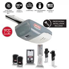 genie silentmax 1000 3 4 hp ultra quiet belt drive garage door opener with