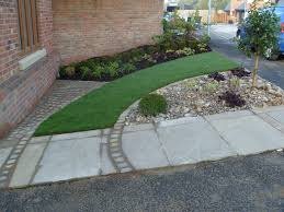Small Picture Front garden on a new build estate Angie Barker Trading as