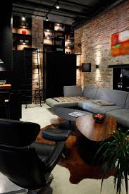 Industrial Living Room 17 Best Images About Industrial Loft Living On Pinterest