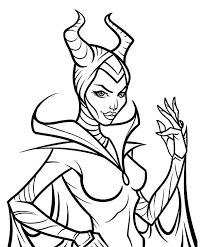 Small Picture Maleficent coloring pages printable ColoringStar