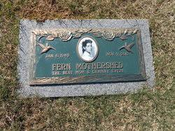 Fern Riley Mothershed (1943-2012) - Find A Grave Memorial