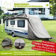 Greenyard Abdeckplane Für Wohnwagen Oder Wohnmobile Größe M Norma24