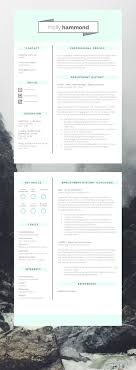 Epic 2 Page Cv Template Resume Template Looking For A New Job