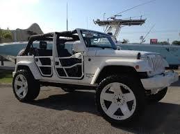 2007 4 door jeep wrangler custom 24rims lifted sound system custom interior