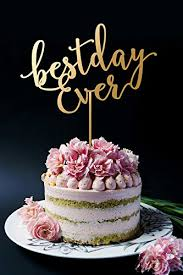 Best Day Ever Cake Topper Wedding Cake Topper Amazoncouk