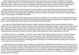 plastic surgery argumentative essay argumentative essay plastic  plastic surgery argumentative essay