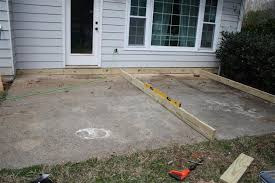 decking over patio slabs patio ideas