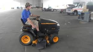 poulan pro riding mower