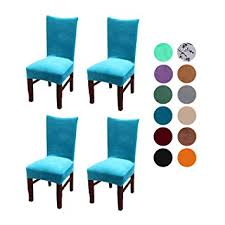 image unavailable image not available for color velvet spandex stretch dining room chair cover