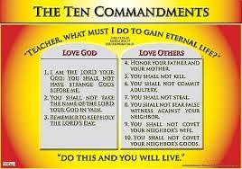 10 Commandments Chart The Ten Commandments The Ten Commandments Poster 14 95
