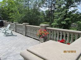 Our concrete balusters on the other hand age very nicely ...