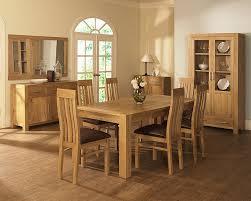 stunning oak dining room table pemberton solid oak dining room