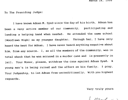 Letter to judge 4