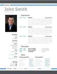 Modern Resume Format Example Document And Resume
