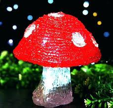 led mushroom lights solar mushroom light red led solar lights decorative mushroom outdoor patio lawn garden led mushroom lights