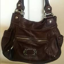 b leather purse bruce makowsky handbags