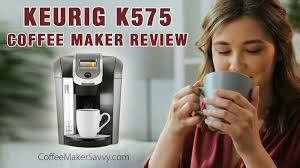 The water reservoir is removable, making it easy to refill whenever you need to, and on the k525, you can choose from. Keurig K575 Single Serve K Cup Pod Coffee Maker Review