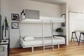 hover compact foldaway wall bunk bed
