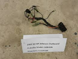 ignition switch push to choke evinrude johnson 388173 390129 390133 2002 9 9 10 hp johnson outboard wiring harness