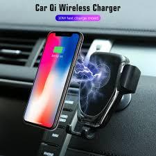 & Qi Smartphones Plus <b>Automatic Clamping</b> Dashboard <b>Air</b> Vent or ...